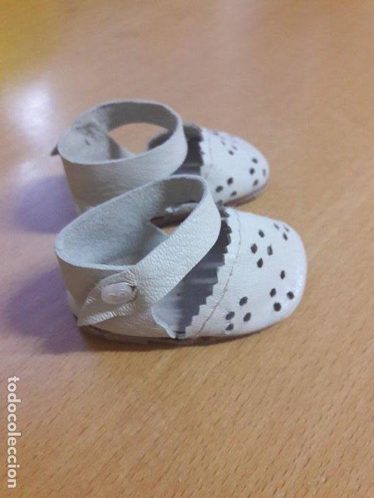 Muñeca Gisela: Zapatos de muñeca Lili hermanita de Gisela. De piel originales - Foto 3 - 193627052