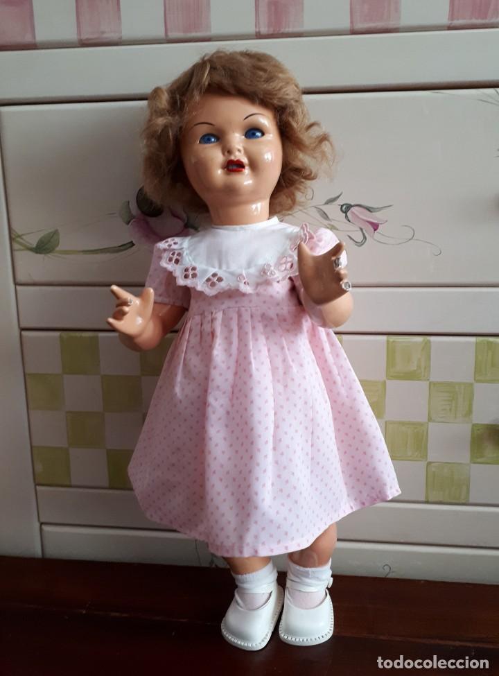 Muñeca Gisela: MUÑECA GISELA . MARCADA EN LA NUCA. 46 CM - Foto 5 - 205108538