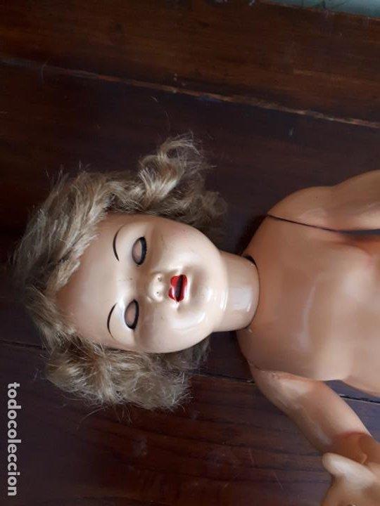 Muñeca Gisela: MUÑECA GISELA . MARCADA EN LA NUCA. 46 CM - Foto 13 - 205108538
