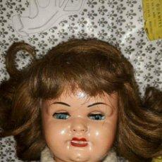 Muñeca Gisela: ANTIGUA MUÑECA GISELA. Lote 214274918