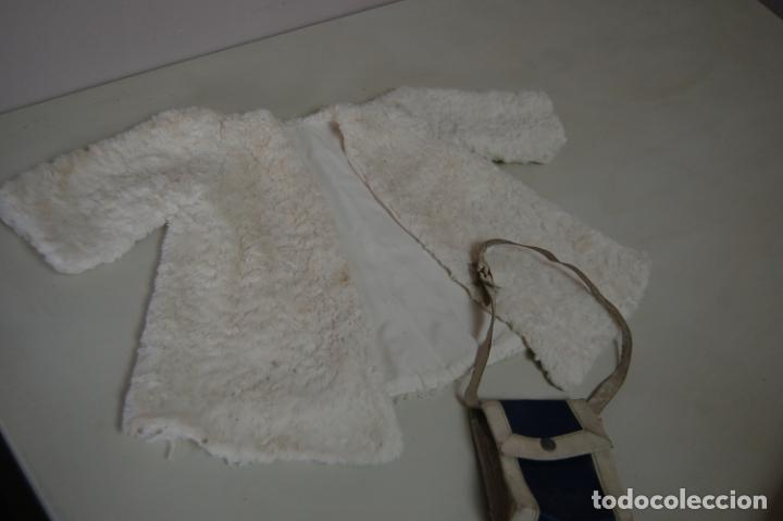 Muñeca Gisela: abrigo de piel y bolso de gisela - Foto 9 - 215274471