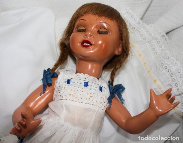Muñeca Gisela: ANTIGUA MUÑECA LILI, HERMANA DE GISELA, MUY BUEN ESTADO, VESTIDO ORIGINAL, PELO LARGO - Foto 5 - 222570916