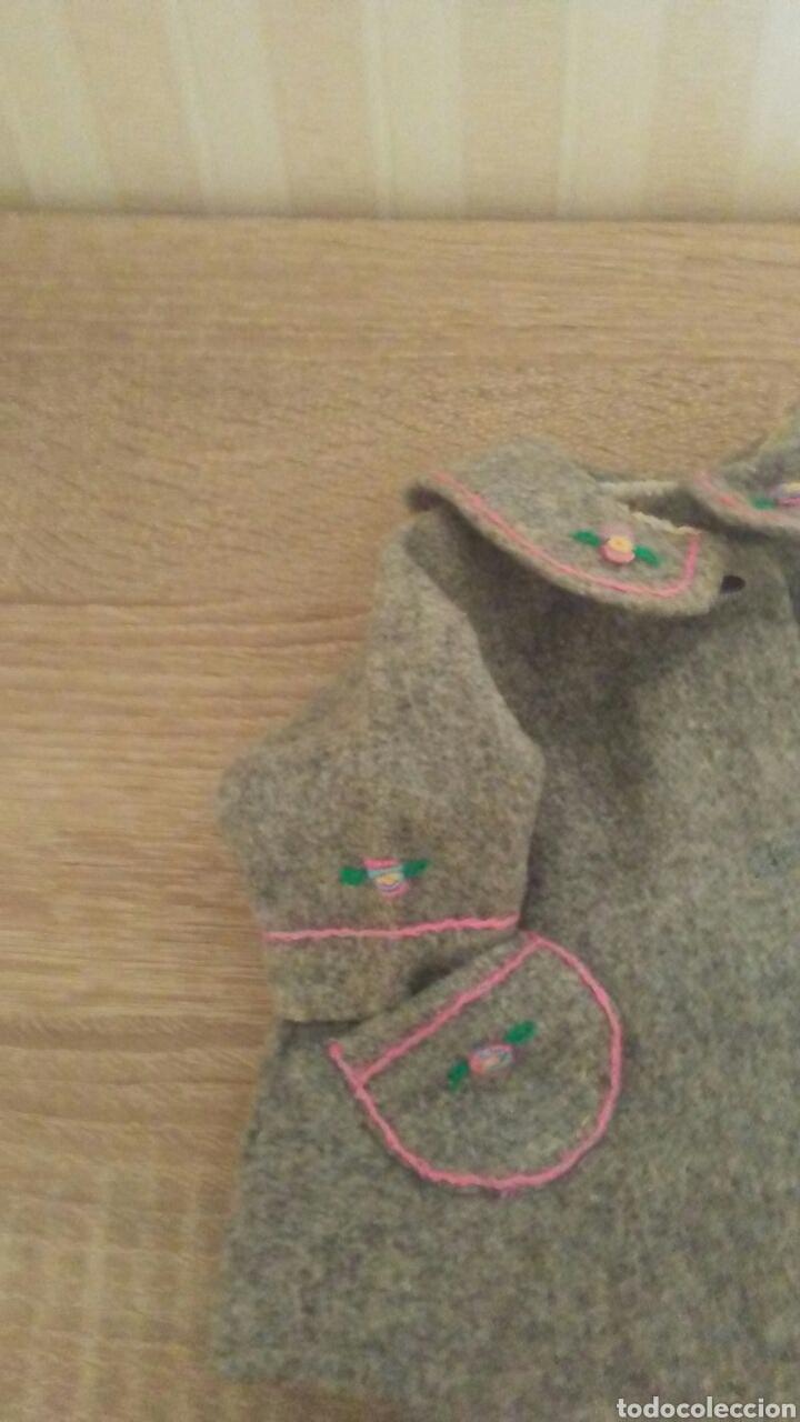 Muñeca Gisela: Chaqueton 3/4 de Gisela es de paño con bordados (ver fotos y leer descripcion) - Foto 11 - 233389130
