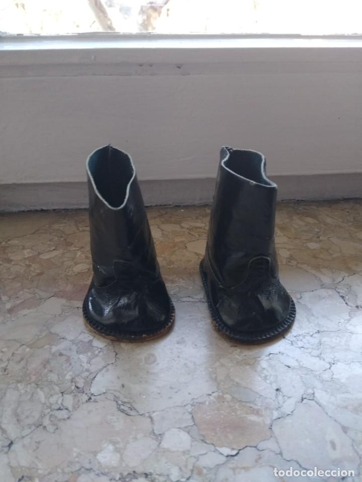 Muñeca Gisela: Preciosa botas de piel de Gisela. - Foto 3 - 235959585
