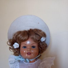 Boneca Gisela: CAPOTA GORRO SOMBRERO ORIGINAL MUÑECA GISELA MARCADO. Lote 252763235