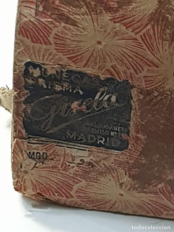 Muñeca Gisela: Muñeca Gisela carton piedra policromada ojos azules durmientes con movimiento en caja original - Foto 18 - 254196625