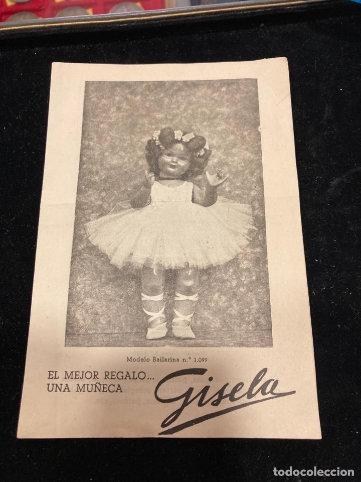 ANTIGUO CATÁLOGO DE LA MUÑECA GISELA (Juguetes - Muñeca Española Clásica - Gisela)