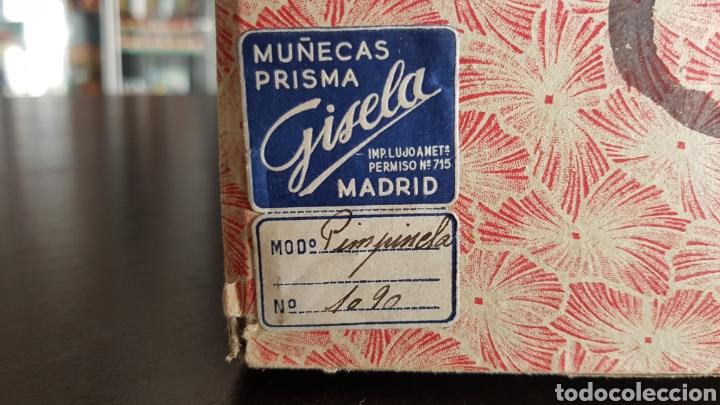 Muñeca Gisela: RARISIMA CAJA VACIA MUÑECA GISELA CON ETIQUETA Y MODELO 1090 PIMPINELA ABSOLUTAMENTE UNICA Y ENTERA - Foto 3 - 259266915