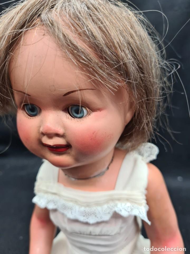 Muñeca Gisela: Lili muñeca hermana Gisela o similar. Cartón piedra y ojos margarita - Foto 6 - 262871485