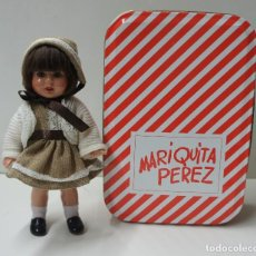 Muñeca Mariquita Pérez y Juanin: MUÑECA MARIQUITA PEREZ PEQUEÑA MIDE 20 CM, CON CAJA ORIGINAL.. Lote 98839775