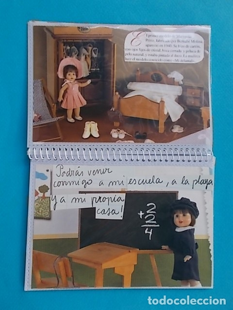 Muñeca Mariquita Pérez y Juanin: Precioso Album regalo con 14 laminas de Revista con Historia de Mariquita Perez desde 1940 Ver fotos - Foto 3 - 130959295