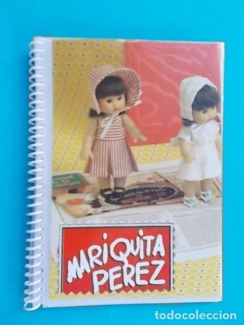 PRECIOSO ALBUM REGALO CON 14 LAMINAS DE REVISTA CON HISTORIA DE MARIQUITA PEREZ DESDE 1940 VER FOTOS (Juguetes - Muñeca Española Clásica - Mariquita Pérez y Juanin)