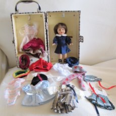 Puppe Mariquita Pérez und Juanin - MARIQUITA PEREZ DE 20CM, BAUL Y ROPA - DOLL, POUPÉE,PUPPE - 144503140