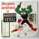 Muñeca Mariquita Pérez y Juanin: DISCO CANCIONES MARIQUITA PÉREZ . Lote 144827830