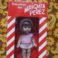 Muñeca Mariquita Pérez y Juanin: MINI MARIQUITA PEREZ EN SU CAJA.. Lote 147211362