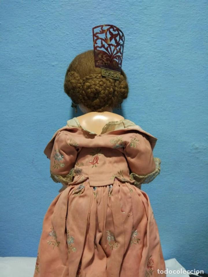 Muñeca Mariquita Pérez y Juanin: MARIQUITA PEREZ andaluza, pareja de JUANIN torero Ojos de cristal Primera epoca - Foto 4 - 149989306