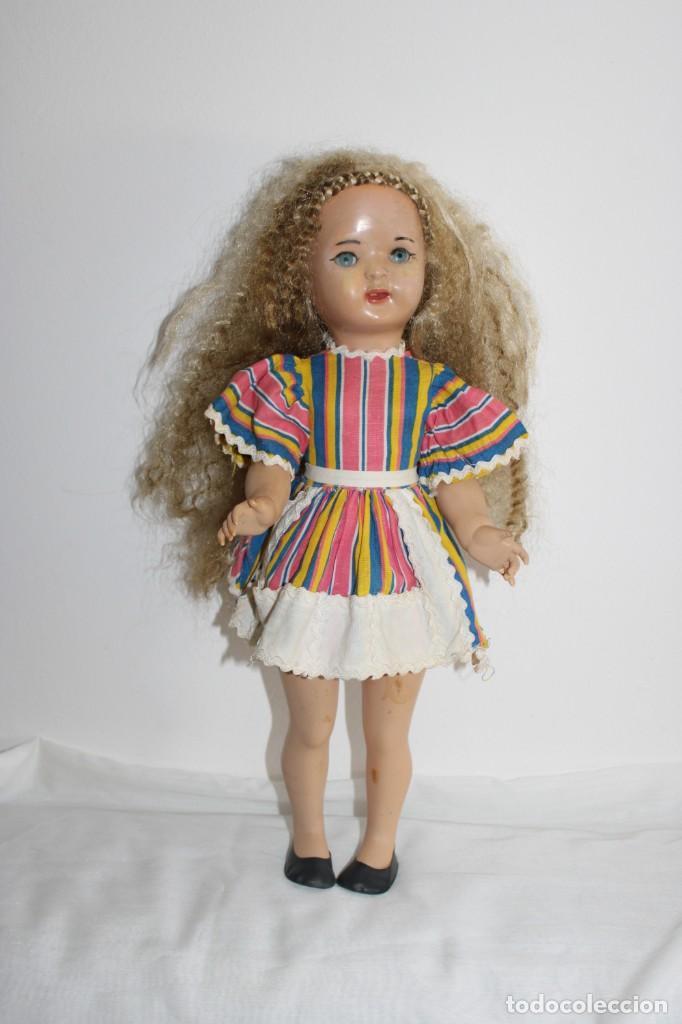 Muñeca Mariquita Pérez y Juanin: Hermosa muñeca Mariquita Pérez delgada, con abanico y bolsa de viaje - Foto 11 - 202345831