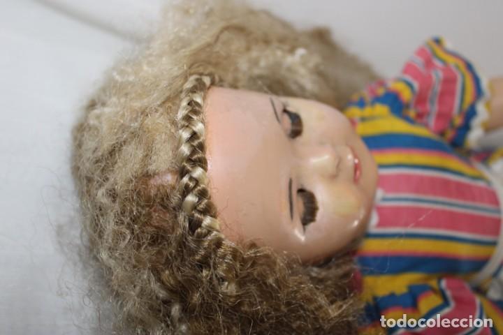 Muñeca Mariquita Pérez y Juanin: Hermosa muñeca Mariquita Pérez delgada, con abanico y bolsa de viaje - Foto 13 - 202345831