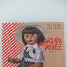 Muñeca Mariquita Pérez y Juanin: CATÁLOGO MARIQUITA PÉREZ. Lote 208868368