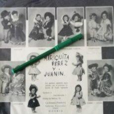 Muñeca Mariquita Pérez y Juanin: PUBLICIDAD DE MARIQUITA PEREZ Y JUANIN. Lote 215769663