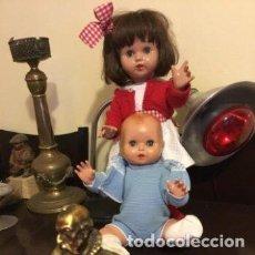 Muñeca Mariquita Pérez y Juanin: ATNCION MARIQUITA PEREZ Y JUANIN PRECIOSAS MUY BIEN. Lote 246173270