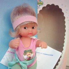 Muñecas Lesly y Barriguitas: MUÑECA BARRIGUITAS AEROBIC DE FAMOSA AÑOS 80 NUEVA A ESTRENAR REFERENCIA 87321. Lote 143652101