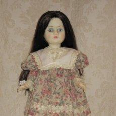 Muñecas Lesly y Barriguitas: REVIVAL DE FAMOSA PELO NEGRO. Lote 27078774