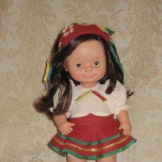 Muñecas Lesly y Barriguitas: RARISIMA CHATUCA DE FAMOSA DE PELO NEGRO. Lote 26968392