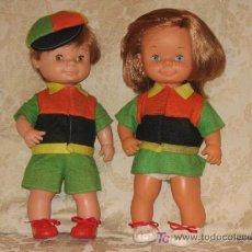 Muñecas Lesly y Barriguitas: CHATIN Y CHATUCA DE FAMOSA PAREJA. Lote 26944995