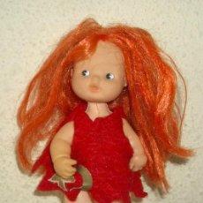 Muñecas Lesly y Barriguitas: BARRIGUITAS PELIRROJA BRUJA. Lote 22074522