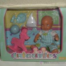 Muñecas Lesly y Barriguitas: CHIQUITITOS DE FAMOSA,CAJA ORIGINAL,A ESTRENAR. Lote 26076125