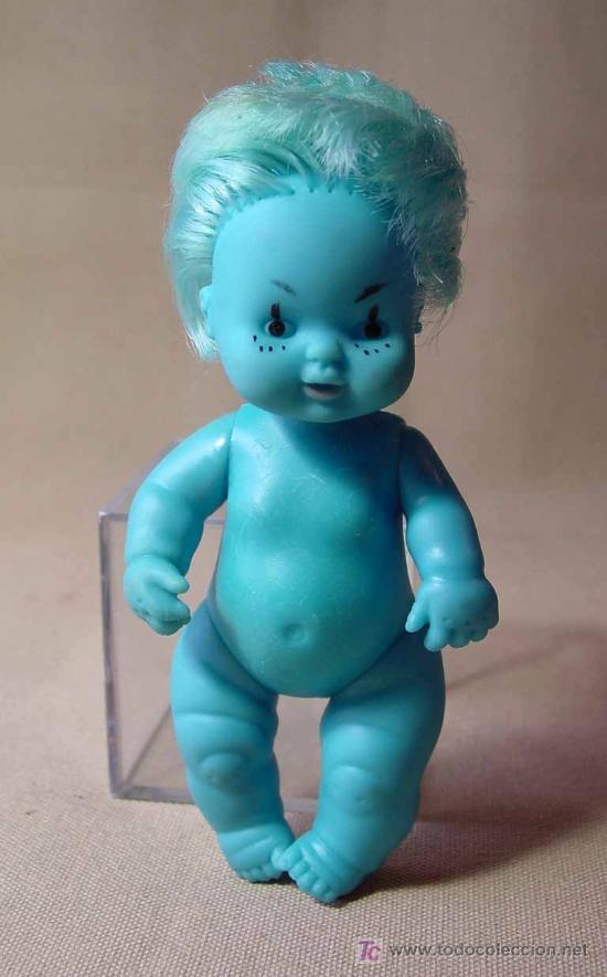 Muñecas Lesly y Barriguitas: RARA BARRIGUITAS ASTRO AZUL, ORIGINAL FAMOSA - Foto 2 - 19300473