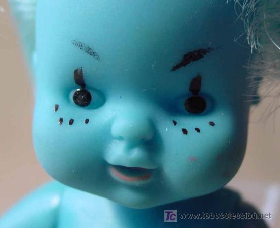 Muñecas Lesly y Barriguitas: RARA BARRIGUITAS ASTRO AZUL, ORIGINAL FAMOSA - Foto 4 - 19300473