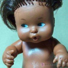 Muñecas Lesly y Barriguitas: MUÑECA BARRIGUITAS, NEGRA, FAMOSA, Nº 97, MADE IN SPAIN. Lote 20082153