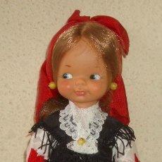 Muñecas Lesly y Barriguitas: MINA CON TRAJE REGIONAL,LA MINI QUE CAMINA DE FAMOSA,AÑOS 60. Lote 20587041