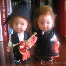 Muñecas Lesly y Barriguitas: PAREJA DE MUÑECOS REGIONALES. Lote 24652421