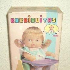 Muñecas Lesly y Barriguitas: TRONA PLEGABLE DE BARRIGUITAS,CAJA ORIGINAL,A ESTRENAR. Lote 22266306