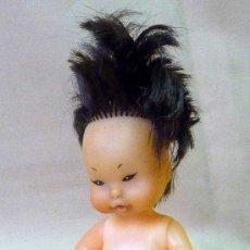 Bonecas Lesly e Barriguitas: MUÑECA, BARRIGUITA, CHINA PIEL AMARILLENTA, , PELO CORTO, DESNUDA, FAMOSA, 14 CM, . Lote 23119697