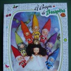 Muñecas Lesly y Barriguitas: BARRIGUITA BARRIGUITAS BLANCANIEVES Y LOS SIETE ENANITOS. Lote 27462895