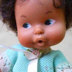 Muñecas Lesly y Barriguitas: RARA MUÑECA BARRIGUITAS, ORIGINAL DE FAMOSA, MULATA. Lote 25286821