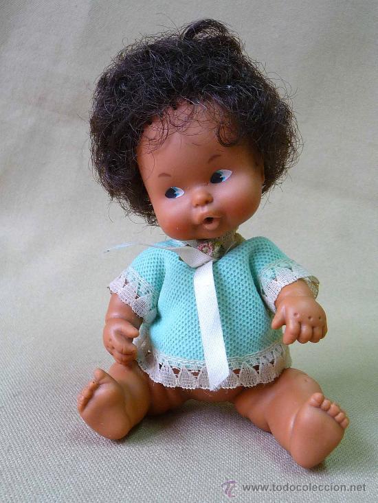Muñecas Lesly y Barriguitas: RARA MUÑECA BARRIGUITAS, ORIGINAL DE FAMOSA, MULATA - Foto 2 - 25286821
