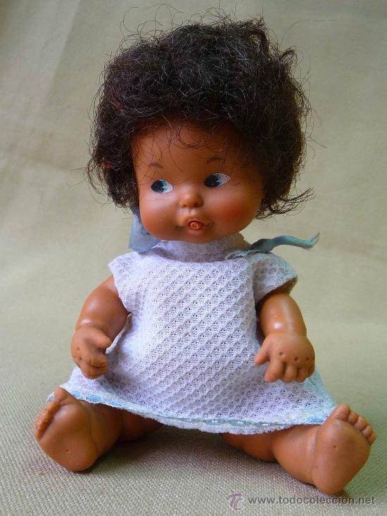 Muñecas Lesly y Barriguitas: RARA MUÑECA BARRIGUITAS, ORIGINAL DE FAMOSA, MULATA - Foto 2 - 25286766