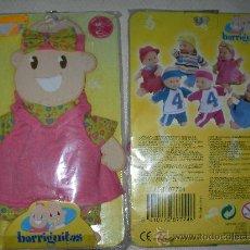 Muñecas Lesly y Barriguitas: ANTIGUO BLISTER BARRIGUITAS 1. Lote 26906400