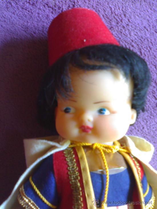 Muñecas Lesly y Barriguitas: Antiguo muñeco morito fabricado en alcoy chinarro en los años 70 muy buen estado - Foto 2 - 28932197