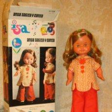 Muñecas Lesly y Barriguitas: ISA DE FAMOSA SIN JUGAR. Lote 71556315