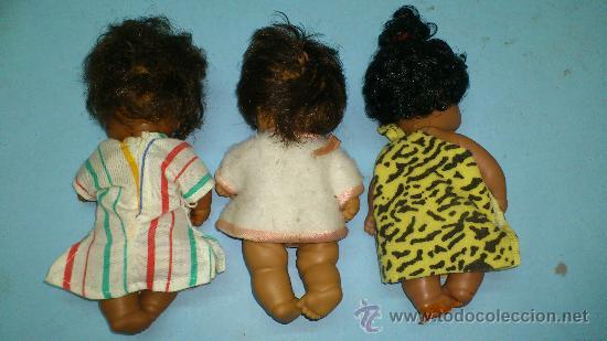 Muñecas Lesly y Barriguitas: BARRIGUITAS. 3 BARRIGUITAS NEGRITAS ... - Foto 2 - 115478944