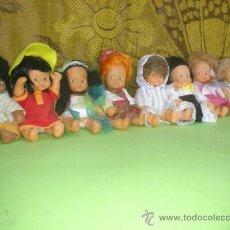 Muñecas Lesly y Barriguitas: BARRIGUITAS. LOTE 8 BARRIGUITAS. FAMOSA. ORIGINALES 100 % DE EPOCA.. Lote 31235719