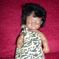 Muñecas Lesly y Barriguitas: BARRIGUITAS ANTIGUA AFRICANA COMPLETA DE ORIGEN CON PELO AFRO NEGRO Y OJOS MARRONES. Lote 85754615