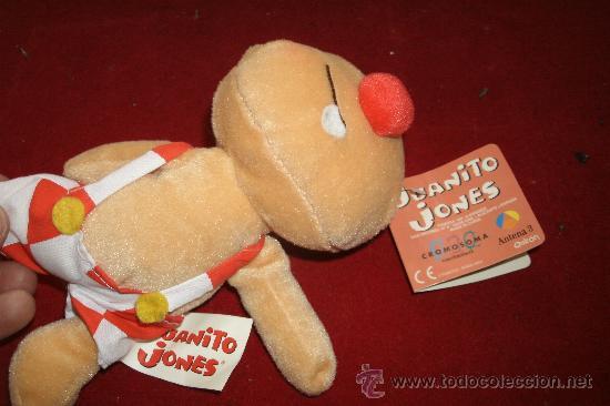 Muñecas Lesly y Barriguitas: MUÑECO DE JUANITO JONES DE FAMOSA CON ETIQUETA - Foto 2 - 120615975