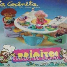 Muñecas Lesly y Barriguitas: LA COCINITA PRIMITOS DE BARRIGITAS DE FAMOSA EN CAJA. Lote 31647688
